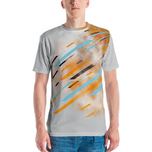 Load image into Gallery viewer, Orange/Grey Men's T-shirt