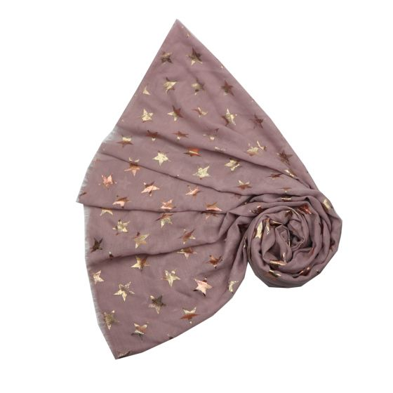 Pink Antique Stars Scarf