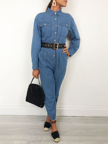 Denim Boiler Suit