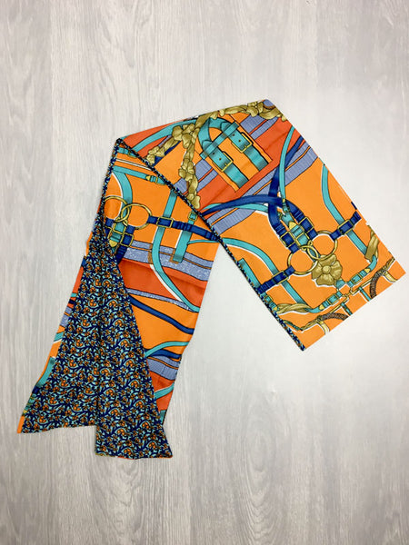 Orange Reversible Headscarf