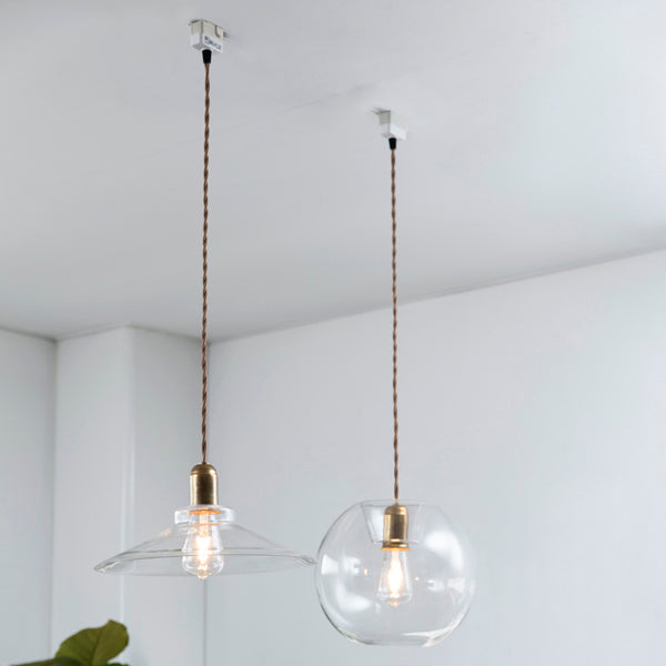 Big Glass Pendant Shade Arth