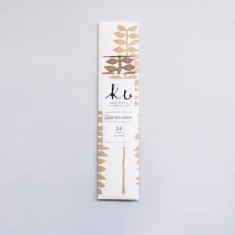 Ku Incense by Trunk Design - Geranium