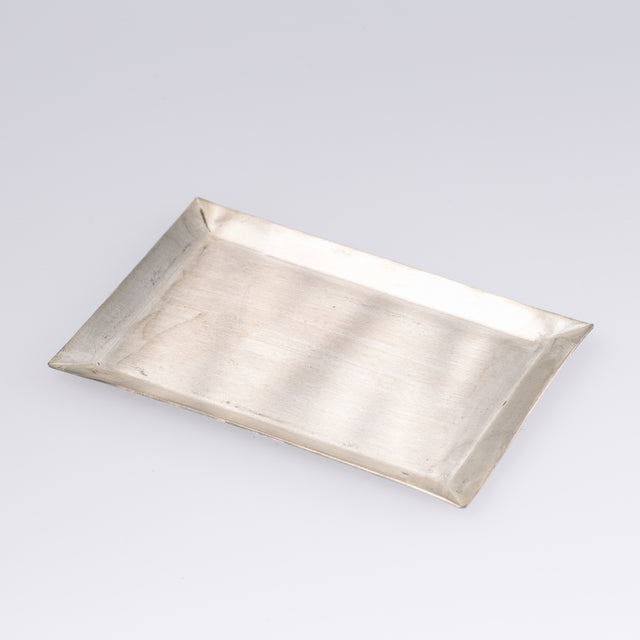 Fog Linen Work Silver Plate Rectangle