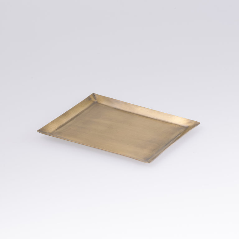 Fog Linen Work Brass Plate Rectangle