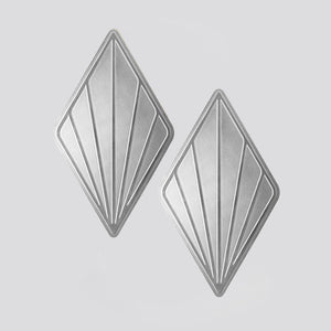 Leaf coaster set - Silver