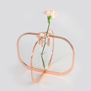 One flower vase - Copper