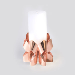 Palea candle holder tall - Copper