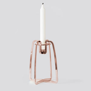Solo candle holder - Copper