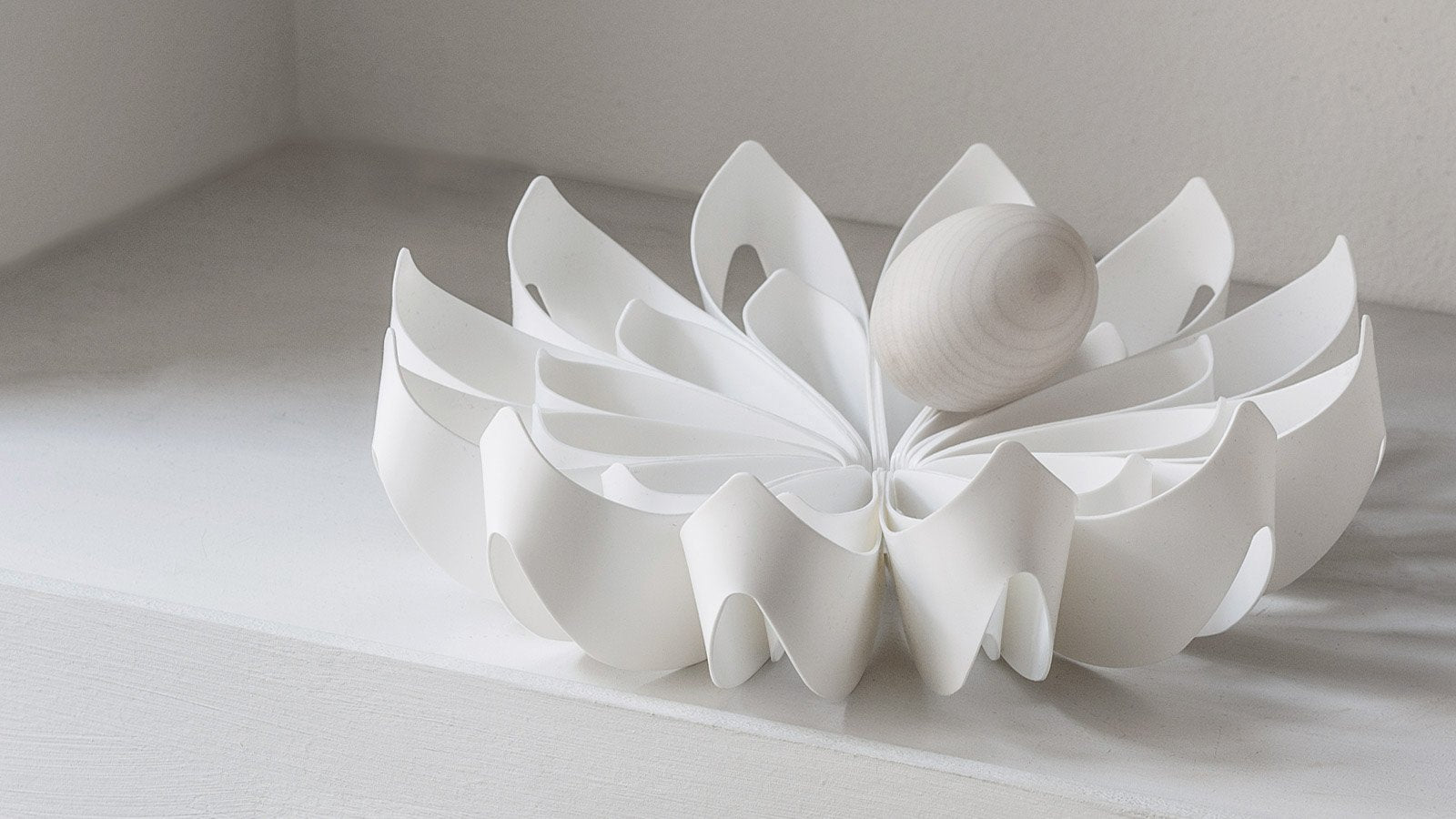 Petals fruit bowl