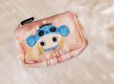 niconico cherry blossoms make up pouch