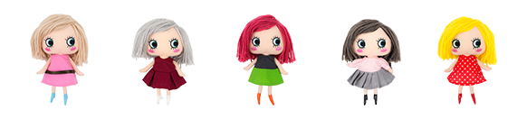 Happy Doll - Plush Doll Deluxe