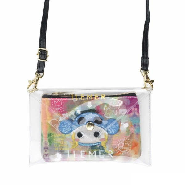 Pikapika Canvas Wallet
