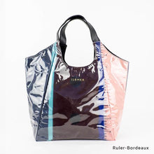 Load image into Gallery viewer, Ruler-Bordeaux | WAKUWAKU | TOTEBAG | ILEMER