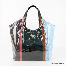 Load image into Gallery viewer, Ruler-Green | WAKUWAKU | TOTEBAG | ILEMER