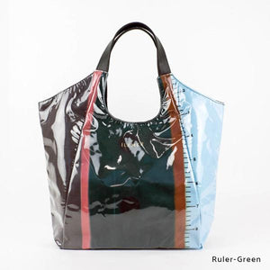 Ruler-Green | WAKUWAKU | TOTEBAG | ILEMER