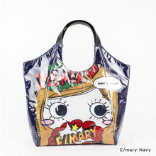 Load image into Gallery viewer, E/mary-Navy | WAKUWAKU | TOTEBAG | ILEMER