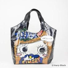 Load image into Gallery viewer, E/mary-Black | WAKUWAKU | TOTEBAG | ILEMER