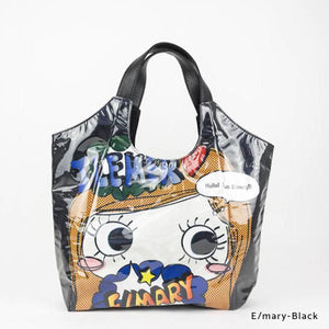 E/mary-Black | WAKUWAKU | TOTEBAG | ILEMER