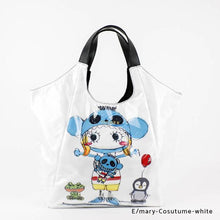 Load image into Gallery viewer, E/mary-Cosutume-white | WAKUWAKU | TOTEBAG | ILEMER