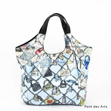 Load image into Gallery viewer, Pont des Arts | WAKUWAKU | TOTEBAG | ILEMER