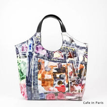 Load image into Gallery viewer, Cafe in Paris | WAKUWAKU | TOTEBAG | ILEMER