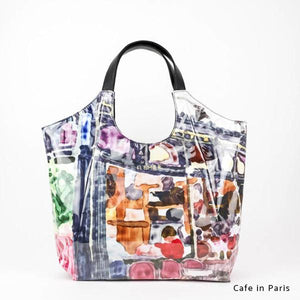 Cafe in Paris | WAKUWAKU | TOTEBAG | ILEMER