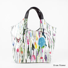 Load image into Gallery viewer, Draw flower | WAKUWAKU | TOTEBAG | ILEMER