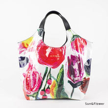 Load image into Gallery viewer, Sun&Flower | WAKUWAKU | TOTEBAG | ILEMER
