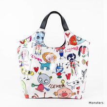 Load image into Gallery viewer, Monsters | WAKUWAKU | TOTEBAG | ILEMER