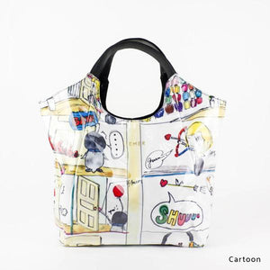 Cartoon | WAKUWAKU | TOTEBAG | ILEMER