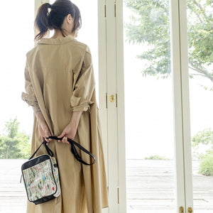 Draw flower | YEARYEAR | POCHETTE / BACKPACKS | ILEMER