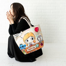 Load image into Gallery viewer, Lunch Time | LUNLUN | TOTEBAGS | ILEMER