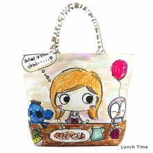 Load image into Gallery viewer, Lunch Time | LUNLUN | TOTEBAG | ILEMER