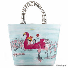 Load image into Gallery viewer, Flamingo | LUNLUN | TOTEBAG | ILEMER