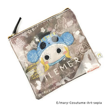 Load image into Gallery viewer, E/mary-Cosutume-Art-sepia | DOKIDOKI | WALLET / POUCH | ILEMER