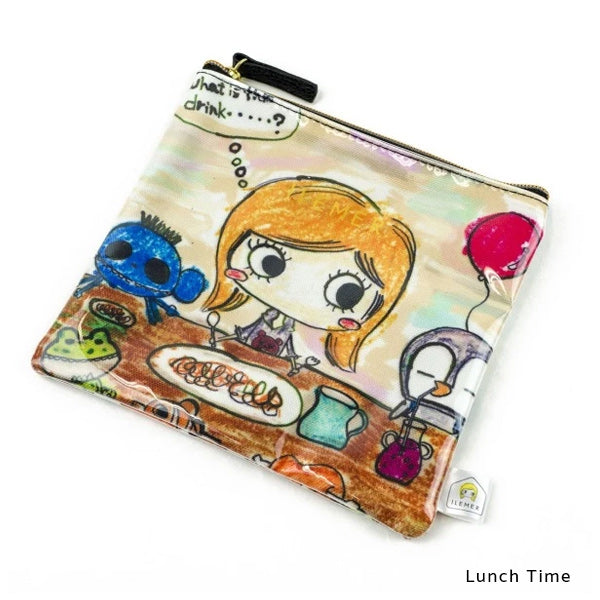 Lunch Time | DOKIDOKI | WALLET / POUCH | ILEMER