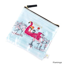 Load image into Gallery viewer, Flamingo | DOKIDOKI | WALLET / POUCH | ILEMER