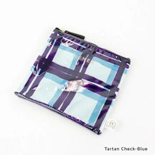 Load image into Gallery viewer, Tartan Check-Blue | DOKIDOKI | WALLET / POUCH | ILEMER