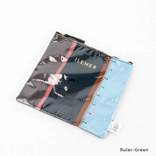 Load image into Gallery viewer, Ruler-Green | DOKIDOKI | WALLET / POUCH | ILEMER