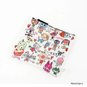 Monsters | DOKIDOKI | WALLET / POUCH | ILEMER