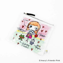 Load image into Gallery viewer, E/mary's Friends-Pink | DOKIDOKI | WALLET / POUCH | ILEMER