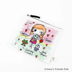 E/mary's Friends-Pink | DOKIDOKI | WALLET / POUCH | ILEMER