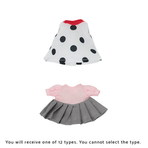 ILEMER Dot Polka Dress for Doll