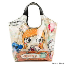 Load image into Gallery viewer, Lunch Time | WAKUWAKU | TOTEBAG | ILEMER