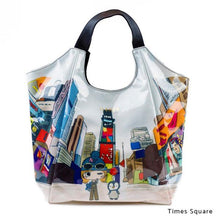 Load image into Gallery viewer, Times Square | WAKUWAKU | TOTEBAG | ILEMER