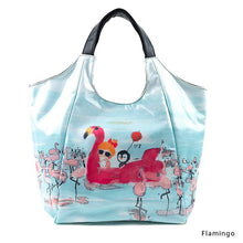 Load image into Gallery viewer, Flamingo | WAKUWAKU | TOTEBAG | ILEMER