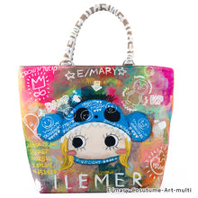 Load image into Gallery viewer, E/mary-Cosutume-Art-multi | LUNLUN | TOTEBAG | ILEMER