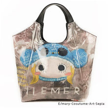Load image into Gallery viewer, E/mary-Cosutume-Art-Sepia | WAKUWAKU | TOTEBAG | ILEMER