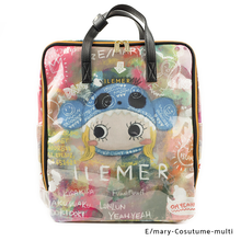 Load image into Gallery viewer, E/mary-Cosutume-Art-multi | PONPON | POCHETTE / BACKPACKS | ILEMER