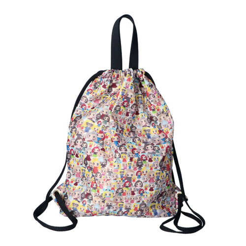 Cute Patterned Drawstring Backpack